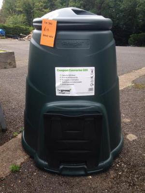 Compost bin. Brand new. 3 available