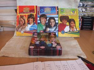 DISNEY HIGH SCHOOL MUSICAL BOX SET.THREE BOOKS.