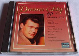 DUANE EDDY 20 TWANGY HITS CD