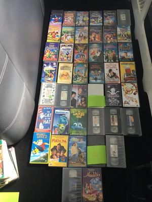 Disney videos and other children's video tapes