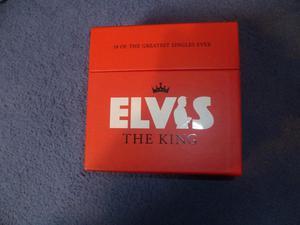 ELVIS 18 CD SINGLES
