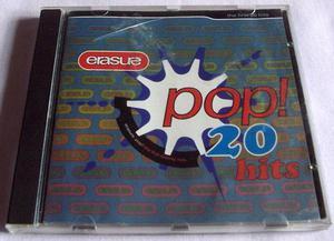 ERASURE POP 20 HITS CD