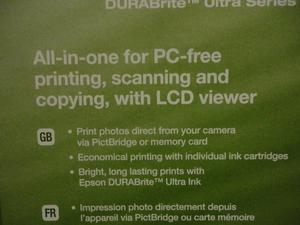 Epsom DX Printer