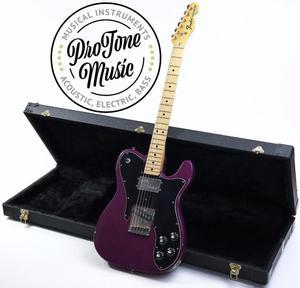 Fender USA Telecaster Custom Refinished Purple & Hard C