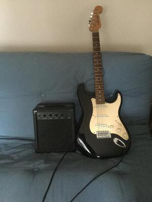 Fleetwood electric guitar and FX15 amplifier