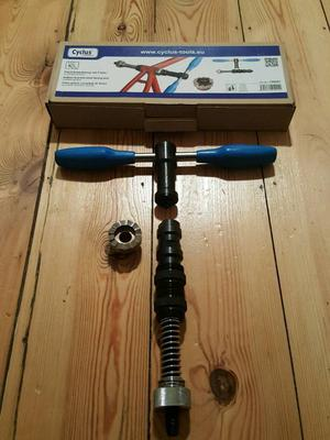 For sale is a set of the ParkTool and Cyclus Tools tools.