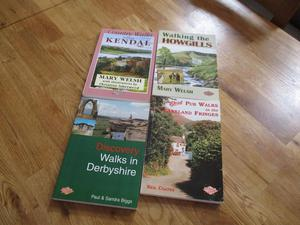 Four books of walks in Northern England.