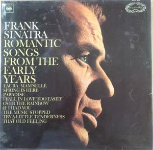 Frank Sinatra Romantic Songs From The Early Years LP