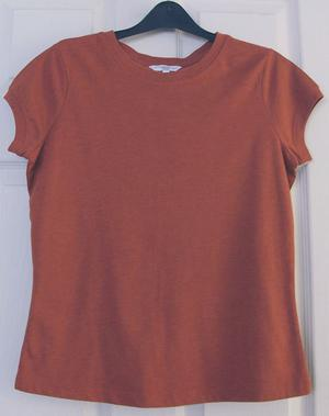 GORGEOUS LADIES PAPRIKA T SHIRT BY NEW LOOK - SZ 14 B13