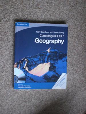 Geography Cambridge IGCSE