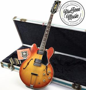 Gibson ES335 TD 12 String & Heavy Duty Flight Case