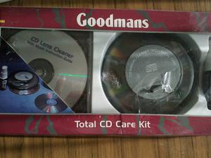 Goodmans Total CD care kit. Unused