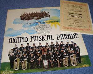 Greater Manchester Police Band. Vinyl