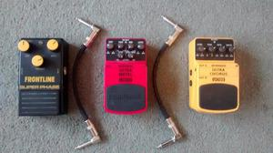 Guitar Effects Pedals - Ultra Chorus, Ultra Metal, Super Pha
