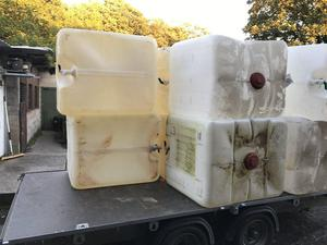 Ibc drum l ideal for cattle sheep pigs