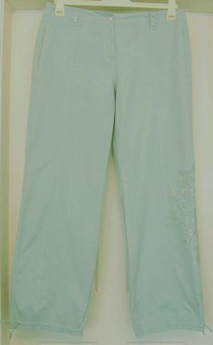 LADIES TROUSERS WITH EMBROIDERY DETAIL BY NEXT - SZ 16L