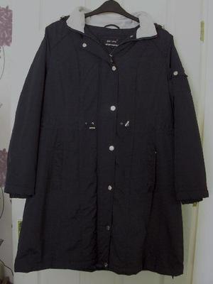 Ladies Navy Blue Coat By Per Una Stormwear - Sz XL. B10