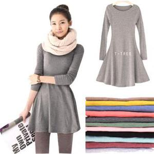 Ladies stylish jumper dress any size