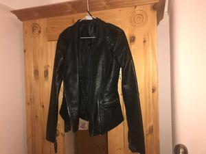 Leather jacket size 8