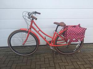 Lovely like new condition ladies traditional bicycle in red