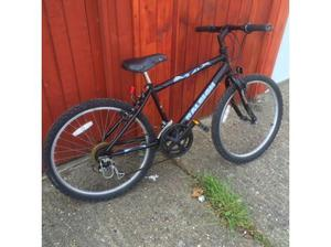 "MOUNTAIN BIKES (2) BOTH WITH 24"" WHEELS. £45 FOR THE BLACK"