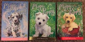 Magic Puppy children's books by Sue Bentley X 3 kids books