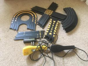 Micro scalextric track extention