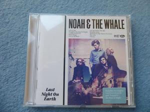 "Noah & the whale ""Last night on earth"" CD"