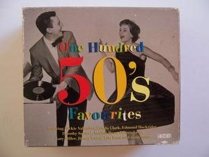 One Hundred 50's Favourites Various Artists - 4CD Box Set