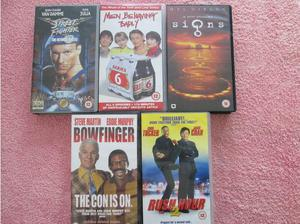 Popular 12 rated films/tv VHS tapes in Northampton