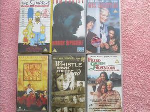 Popular PG films/tv VHS tapes in Northampton