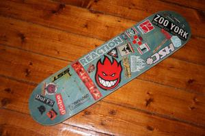 Powell mini-logo Skateboard Deck K12 Concave with stickers