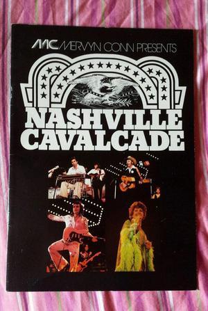 Rare Nashville Cavalcade Tour Programme  Country Music B