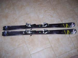 Salomon Skis with Bindings & Poles