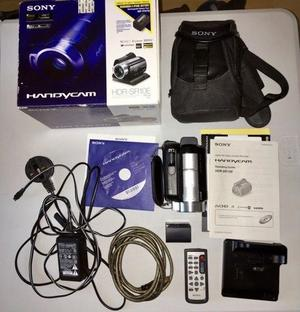 Sony HDR-SR10E HandyCam with accessories