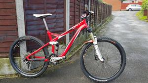 Specialized full suspension mountain bike..REDUCED