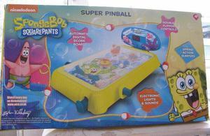 Spongebob Squarepants Super Pinball Game