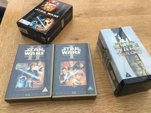 Star Wars vhs videos