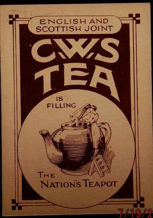 Tea Card by C.W.S. Tea Buying