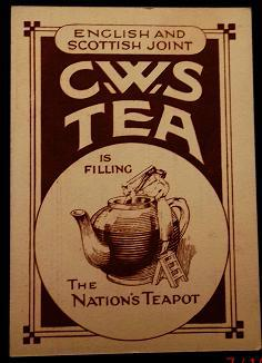Tea Card by C.W.S. Tea in the Home