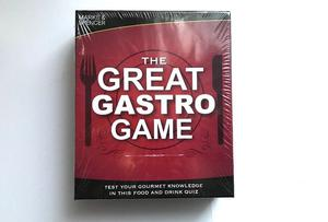 The Great Gastro Game by Marks and Spencer Test Your Gourmet Knowledge NEW SEALED