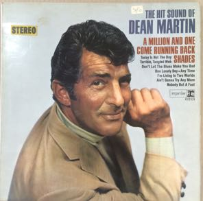 The Hit Sound Of Dean Martin Stereo LP