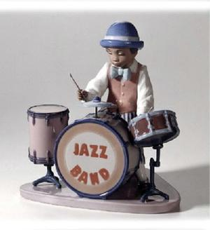 The Lladro Collection The Jazz Band Drum