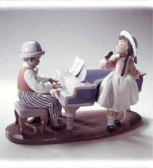 The Lladro Collection The Jazz Band Duo