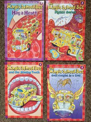 The Magic School Bus - beginning reader books X 4 kids books