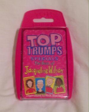 Top Trumps Specials: The Best of Jacqueline Wilson. Complete And Good Condition.