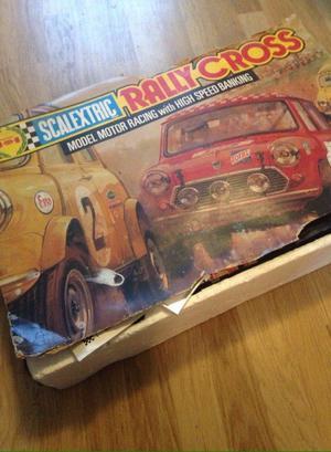Vintage scalextric minis rally cross