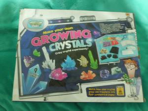 Weird Science Grow your own Crystals Kit
