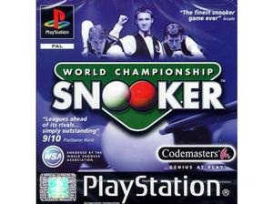 World Championship Snooker PlayStation Game PS1 in Stockport