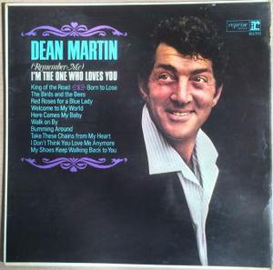 dean martin im the one who loves you stero LP